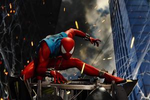 Scarlet Spider Ps4 Game 4k Wallpaper