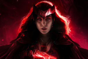 Scarlet Witch 2020 4k Wallpaper