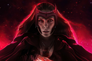 Scarlet Witch 2020 Artwork Wallpaper