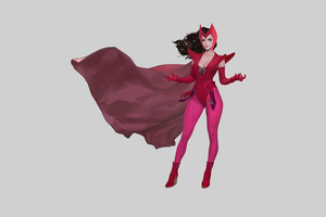Scarlet Witch 4k 2020