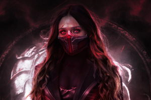 Scarlet Witch 4k New