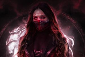 Scarlet Witch 4k New Wallpaper