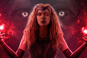 Scarlet Witch Aka Wanda Vision 4k Wallpaper