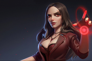 Scarlet Witch Art 4k