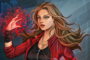 Scarlet Witch Artworks