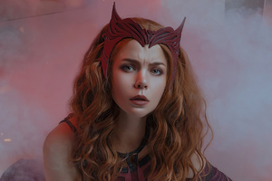 Scarlet Witch Cosplay 2021 Wallpaper