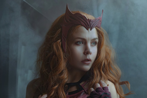 Scarlet Witch Cosplay 2021 4k Wallpaper