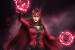 Scarlet Witch Future Revolution Wallpaper