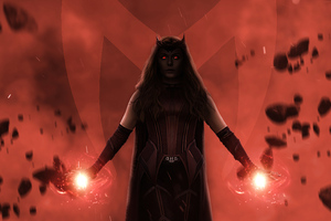 Scarlet Witch In Wanda 5k