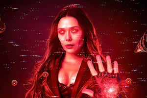 Scarlet Witch Matrix 4k