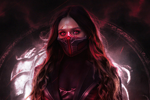 Scarlet Witch Wanda Maximoff 5k Wallpaper