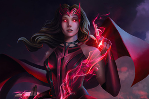 Scarlet Witch Wanda Wallpaper