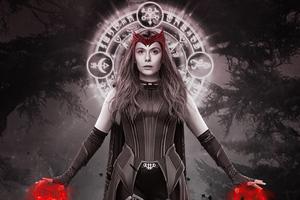 Scarlet Witch X Wanda Maximoff 5k Wallpaper