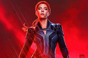 Scarlett Johansson As Melina Vostokoff In Black Widow Movie 5k Wallpaper