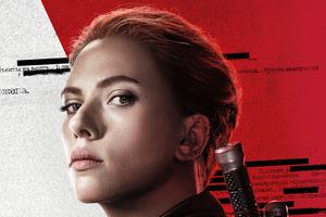 Scarlett Johansson In Black Widow Movie 5k Wallpaper