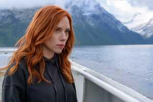 Scarlett Johansson In Black Widow Movie 8k Wallpaper