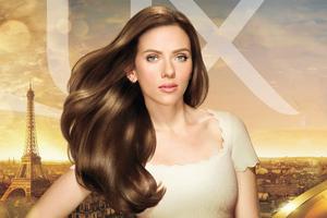 Scarlett Johansson Lux Campaign 2019