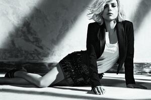 Scarlett Johansson Monochrome 2018