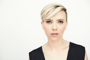Scarlett Johansson Short Hair Blonde 5k