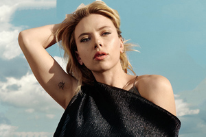 Scarlett Johansson The Hollywood Reporter 2019 Wallpaper