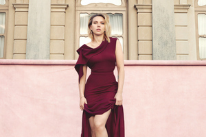 Scarlett Johansson The Hollywood Reporter Magazine 4k Wallpaper