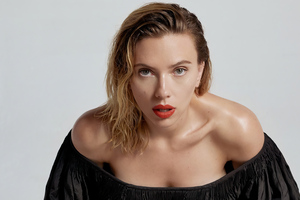 Scarlett Johansson Vanity Fair 2020 Wallpaper