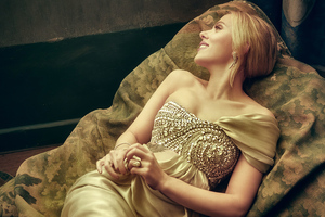 Scarlett Johansson Vanity Fair Oscar Portrait 4k Wallpaper