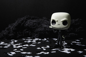 Scary Skull Doll Halloween Creepy 5k Wallpaper