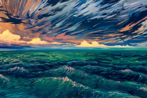 Scenery Digital Art 4k Wallpaper