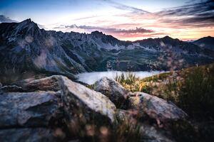 Scenery Landscape Sky Mountains 5k
