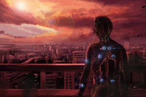 Science Fiction Gantz Anime Manga Series 4k