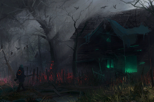 Science Fiction Village Forest