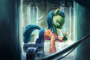 Scientist Pony