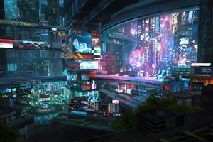 Scifi City 2076