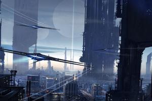 Scifi City 4k