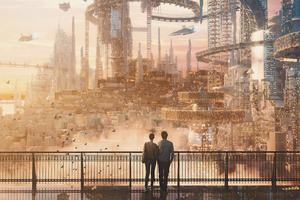Scifi Cityscape 5k Wallpaper