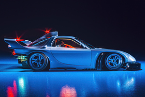 Scifi Future Car 5k