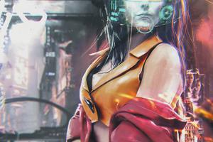 Scifi Girl Vs Robots 4k