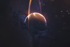 Scifi Planet Space Wallpaper