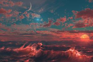 Scifi Planets Art