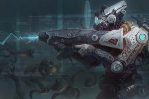 Scifi Robo And Guns 5k