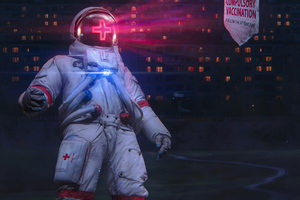 Scifi Robot Nurse 4k