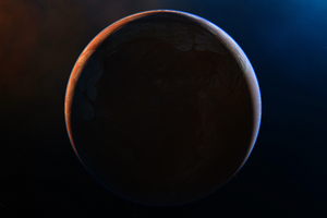 Scifi Space Planet 4k