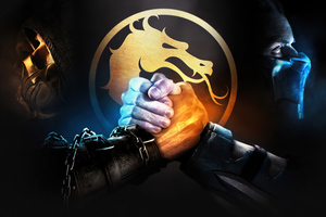 SCORPION AND SUB ZERO Mortal Kombat Wallpaper