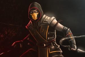 Scorpion Mortal Kombat 4k