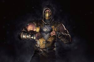 Scorpion Mortal Kombat Batman
