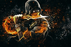 Scorpion Mortal Kombat Video Game Wallpaper