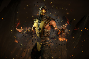 Scorpion Mortal Kombat X 4k