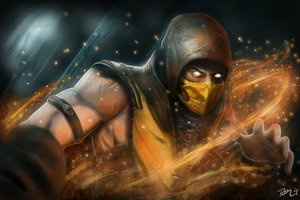 Scorpion Mortal Kombat X New