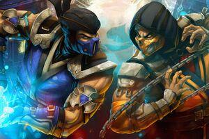Scorpion Y Sub Zero Wallpaper